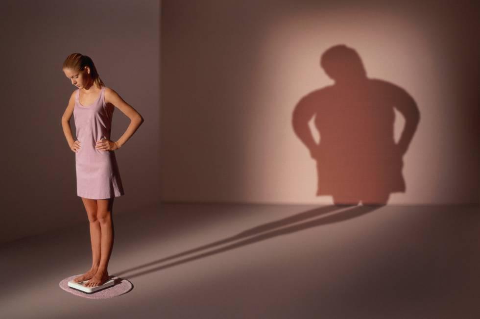 Anorexia nervosa: mesmo muito magra, a pessoa continua se achando gorda